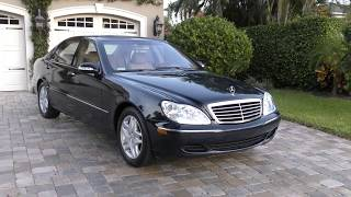 2003 Mercedes Benz S500 Review and Test Drive by Bill - Auto Europa Naples