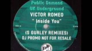 Victor Romeo Inside You (S Gurley Remix) (Dub)