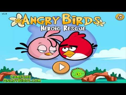 Angry Birds Hero Rescue Walkthrough All Levels   1 To 24