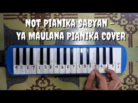 Not Pianika Sabyan - Ya Maulana