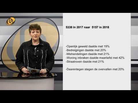 Misdaadcijfers van de gemeente Helmond 2018 | OH Weekoverzicht van week 10 2019