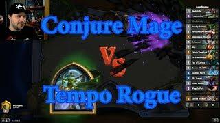 Tempo Rogue vs Conjure Mage | Hearthstone