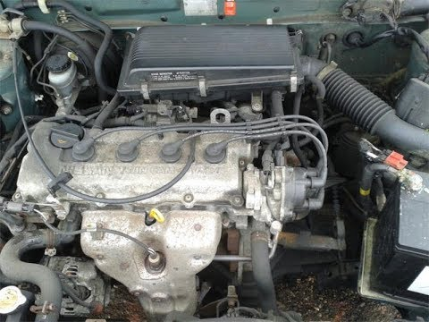 1995 nissan sentra GXE cold air intake install  YouTube