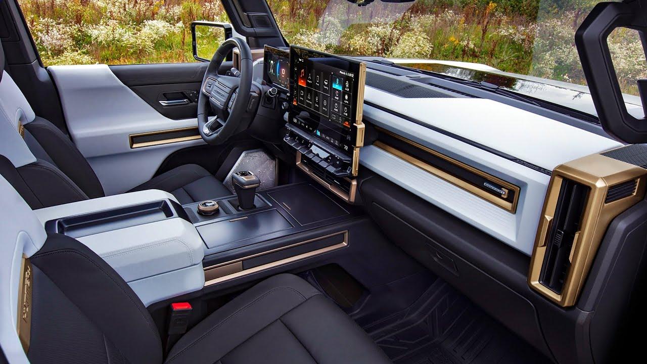2022 GMC Hummer EV - Interior and Exterior Details