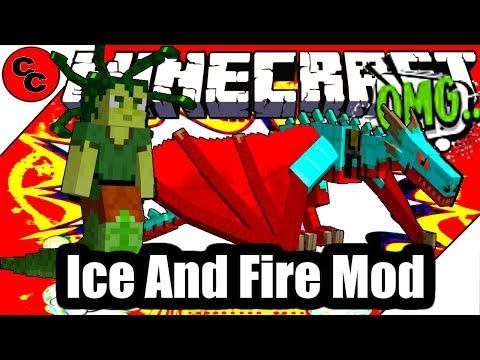 "Minecraft Mods: "" Ice and Fire Mod 1.12.2 """
