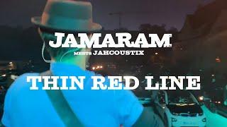 JAMARAM meets JAHCOUSTIX - Thin Red Line (live at Autokonzert Dachau 2020)