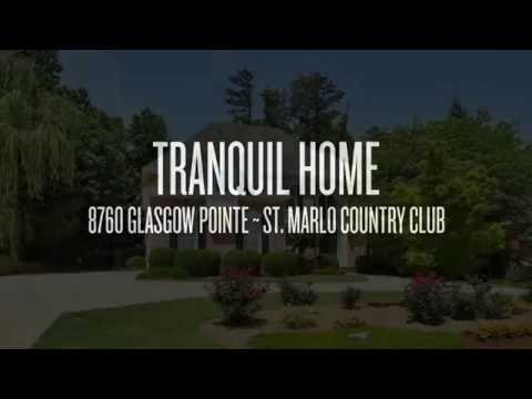 8760 Glasgow Pointe ~ St. Marlo Country Club