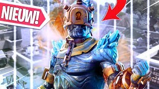 SPELEN MET DE GRATIS snowfall FIRE KING PRISONER SKIN!! Fortnite Battle Royale