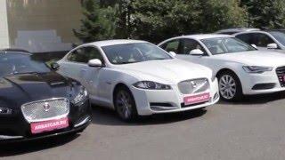 Аренда авто без водителя Jaguar / Ягуар белый(, 2016-01-21T15:28:31.000Z)