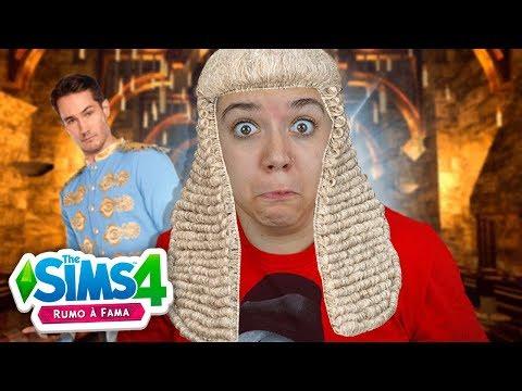 FIZ UMA NOVELA DE PRINCESA! - The Sims 4 Rumo a Fama