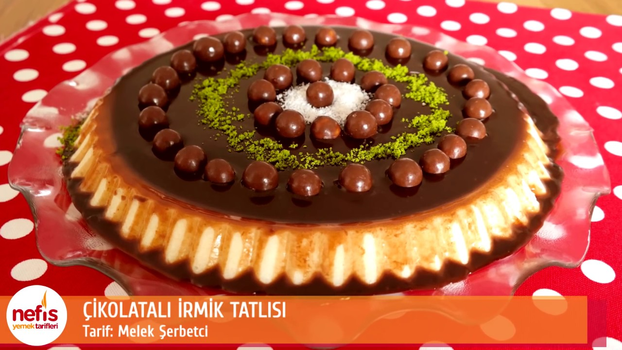 İrmikli Çikolatalı Kek