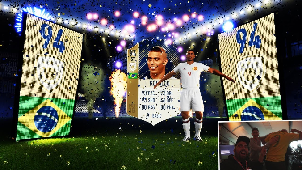 FIFA 18 Icon RONALDO In A PACK Best Pack Opening PMTV