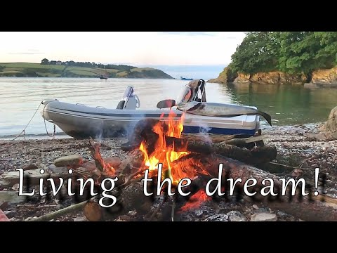 Spearfishing, Cooking And Camping In Cornwall... Living The Dream!