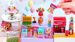 14 REALISTIC DIY MINIATURE FOOD SHOP HACKS AND CRAFTS COLLECTION !!!