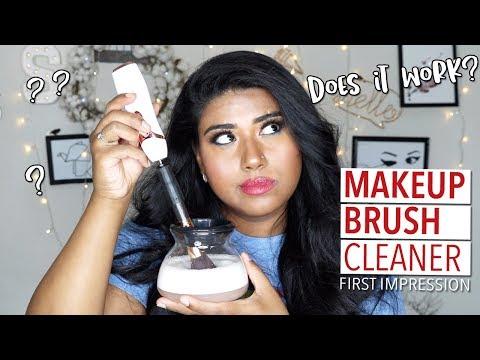 DOTSOG Makeup Brush Cleaner   DOES IT WORK?