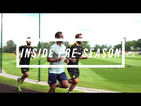 Inside Pre-season | Cooper and Klich return, trampoline test, out on the grass at Thorp Arch