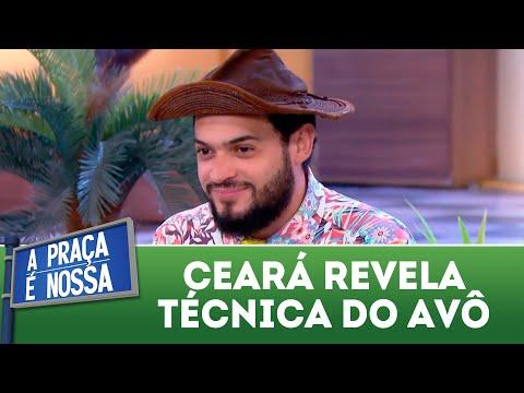 Ceará revela técnica sexual do avô | A Praça é Nossa (05/04/18)
