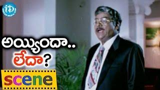 Ayyindha Ledha Movie Scenes - Kota Srinivasa Rao Fires On Raksha || Brahmanandam || Bharath