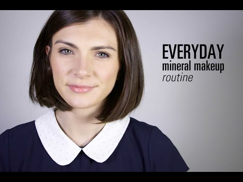 Everyday mineral makeup with bareMinerals || The Very French Girl