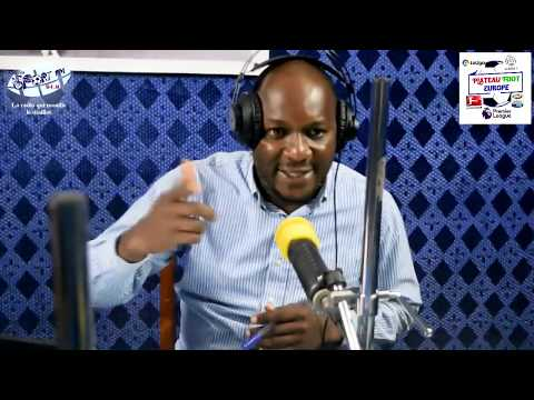 SPORTFM TV - PLATEAU FOOT EUROPE DU 12 AOÛT 2019 PRESENTE PAR ANGELO FOLLYKOE
