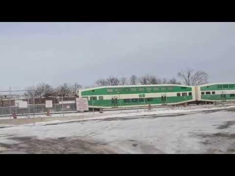 GO Transit Georgetown-Kitchener Train at the West Toronto Grade Separation