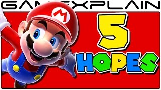 Top 5 Hopes for Super Mario Switch