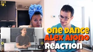 One Dance by Drake and Hasta el Amanecer by Nicky Jam | Mashup by Alex Aiono - Reaction