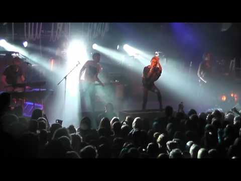 Jennifer Rostock Insekten im Eis Live in München