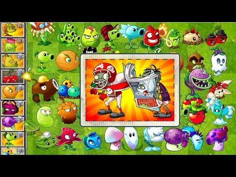Plants vs Zombies 2 Every Plant Power UP vs ALL STAR and Sunday Edition Zombie