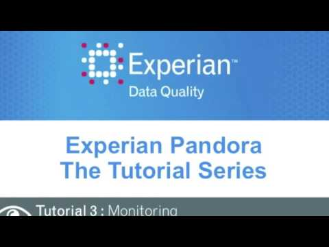 Experian Pandora - Profile, Transform, Monitor & Enrich