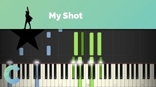 Hamilton - My Shot Piano Tutorial