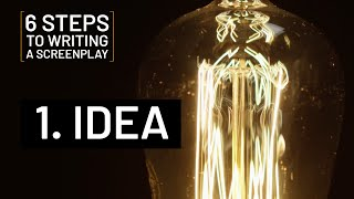 6 STEPS TO WRITING A SCREENPLAY | 1. IDEA