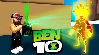 Мутируем в разных инопланетян БЕН 10 в Роблокс Ручные монстры в часах