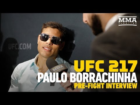UFC 217: Paulo Borrachinha Explains Why He Wants To Be Known As 'The Eraser' Moving Forward