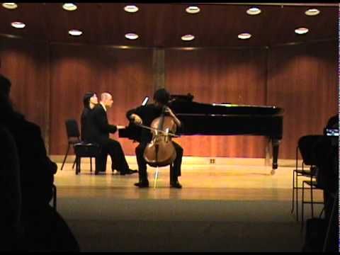 M. Rostropovich- Humoresque, Op. 5, played by Taeguk Mun(문태국)