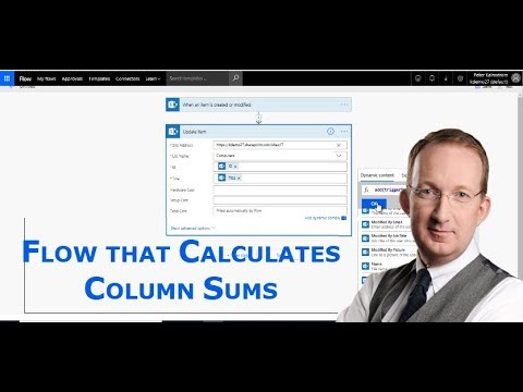 Flow that calculates sums in SharePoint lists