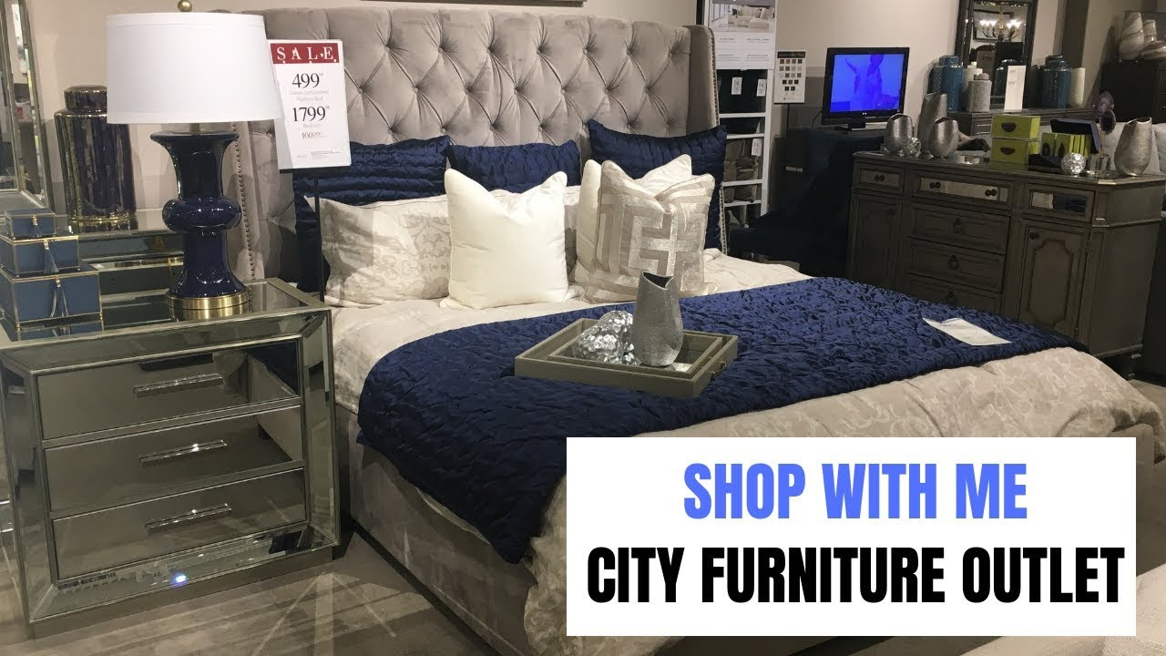 Furniture Shop With Me: City Furniture Outlet Sawgrass