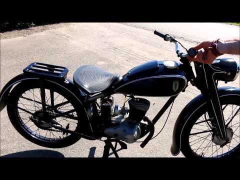 dkw 125 gs running doovi. Black Bedroom Furniture Sets. Home Design Ideas