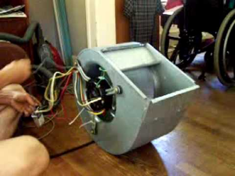 110 Ac Fan Wiring Squirrel Cage Fan Youtube