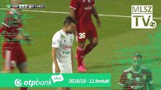 Kisvárda Master Good  - Mezőkövesd Zsóry FC | 1-2 (1-0) | OTP Bank Liga | 11. forduló | 2018/2019