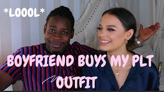 BOYFRIEND BUYS MY PLT OUTFIT A/W +GIVEAWAY | Madison Sarah