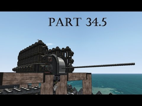 From The Depths| S3 Part 34.5 | Advanced Cannons - basics!