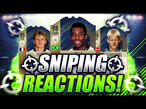 FIFA 18  BEST SNIPES ON FIFA 18 🔥 MY BEST SNIPING REACTIONS 🐧 SNIPING REACTIONS EP10