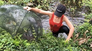 Believe This Fishing? You Won't Believe This Fish Trap Is REAL!