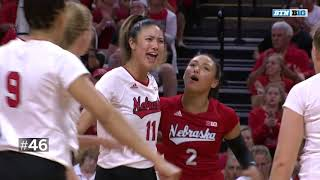 Top 50 Plays of the Year | B1G Volleyball