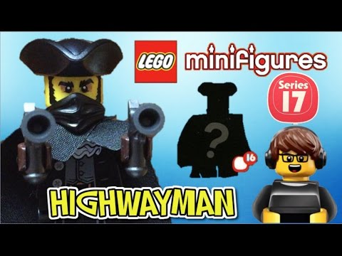 Lego Minifigures Series 17 OPENING THE MYSTERY MINIFIGURE??