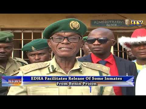 EDHA Facilitates Release Of Some Inmates From Benin Prison