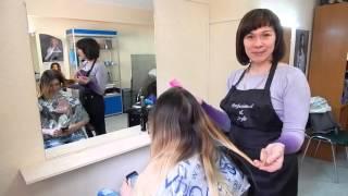 Курсы парикмахеров Запорожье, окрашивание волос(, 2016-04-27T10:18:08.000Z)