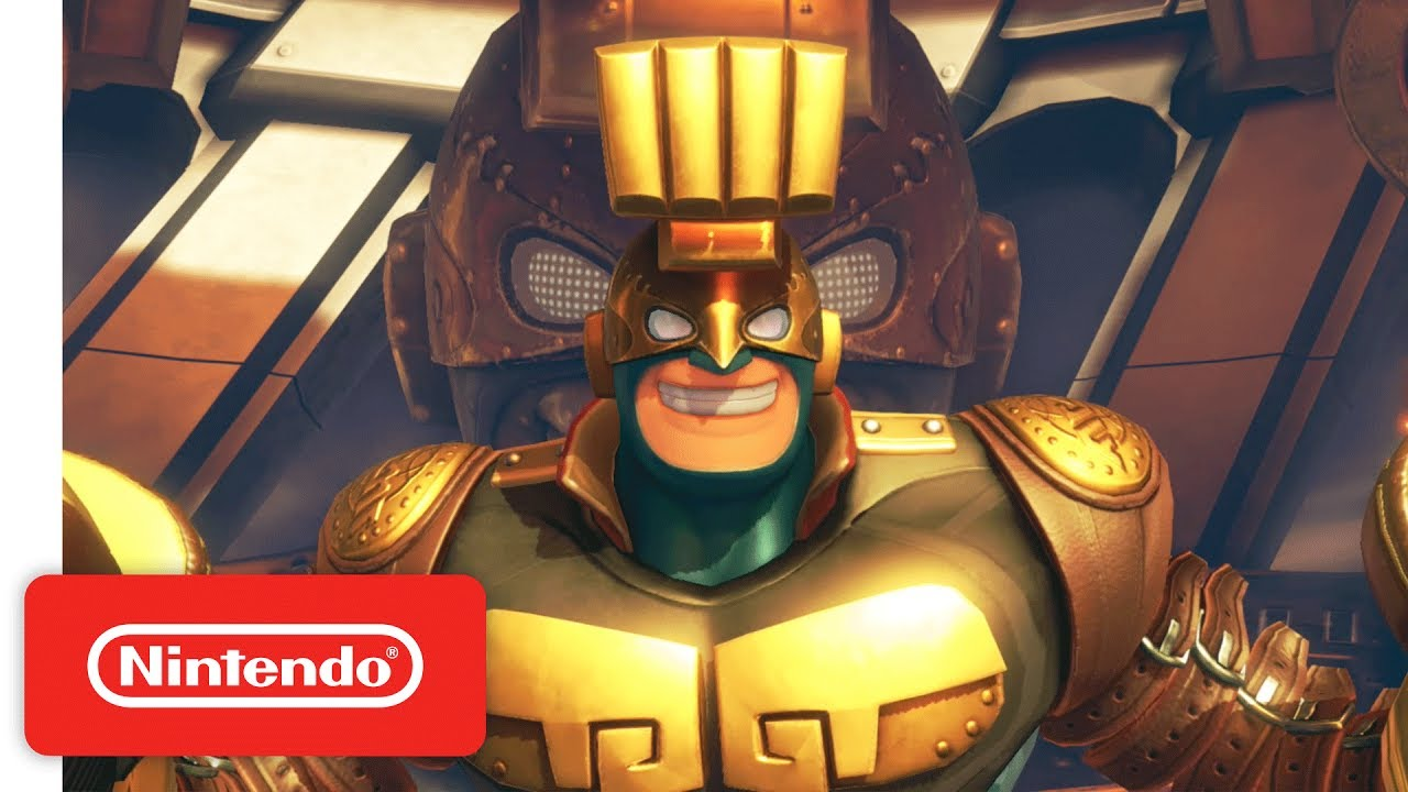 Arms Introducing Max Brass Nintendo Switch Youtube