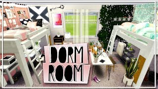 College Dorm Room | The Sims 4 Room Build